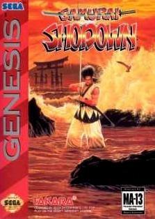 Samurai Shodown sur MD