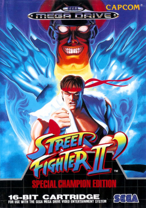 Street Fighter II' : Special Champion Edition sur MD