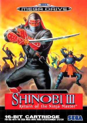 Shinobi III : Return of the Ninja Master sur MD