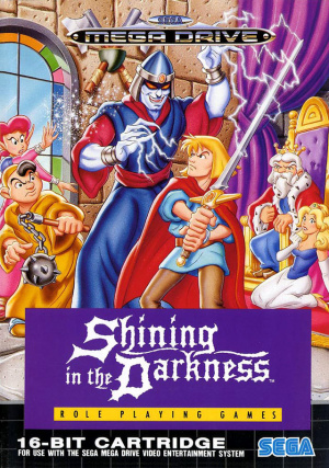 Shining in the Darkness sur MD
