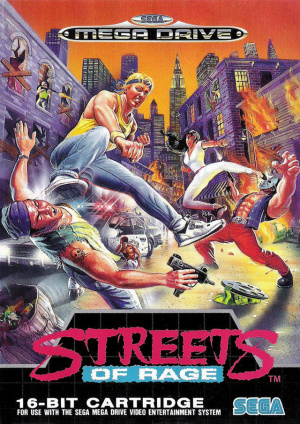 Streets of Rage sur MD