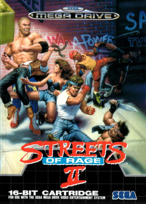 Streets of Rage 2 sur MD