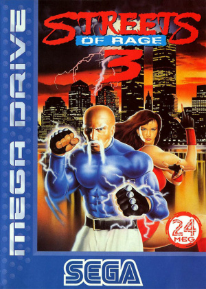 Streets of Rage 3 sur MD