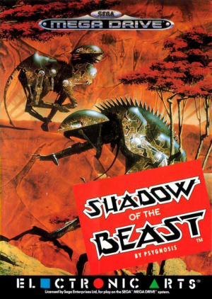 Shadow of the Beast sur MD