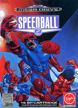 Speedball 2 sur MD