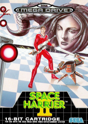 Space Harrier II sur MD