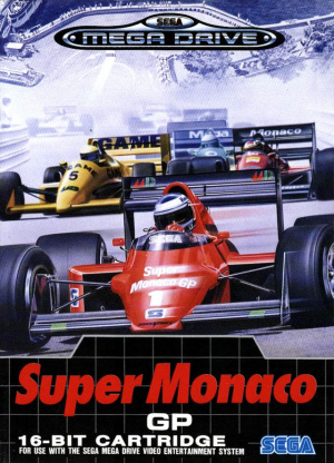 Super Monaco GP sur MD