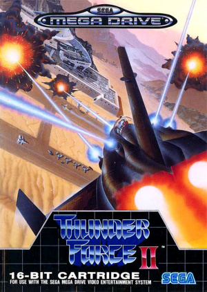 Thunder Force II sur MD
