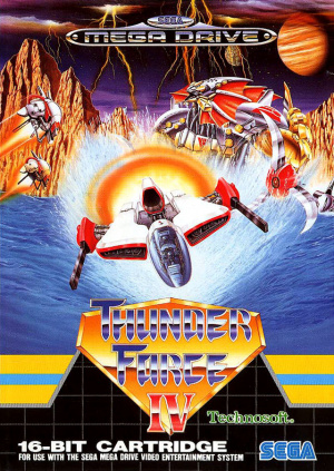 Thunder Force IV sur MD