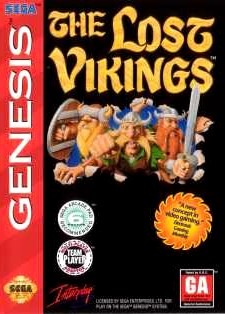 The Lost Vikings sur MD
