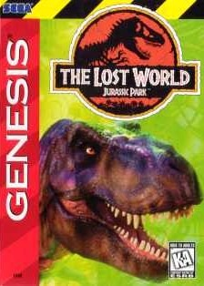 The Lost World : Jurassic Park sur MD