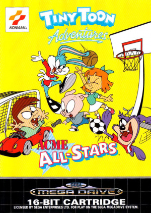 Tiny Toon Adventures : Acme All-Stars sur MD