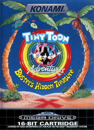 Tiny Toon Adventures : Buster's Hidden Treasure sur MD