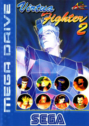 Virtua Fighter 2 sur MD