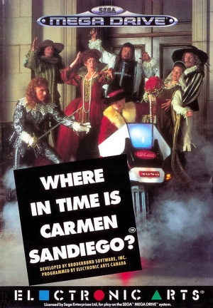 Where in Time is Carmen Sandiego? sur MD