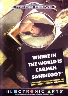 A la Poursuite de Carmen Sandiego dans le Monde sur MD