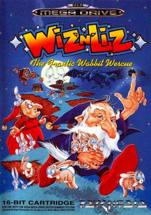 Wiz 'n' Liz : The Frantic Wabbit Wescue sur MD