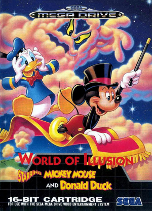 World of Illusion starring Mickey Mouse and Donald Duck sur MD