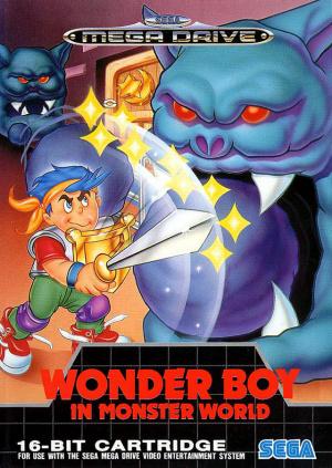 Wonder Boy in Monster World sur MD