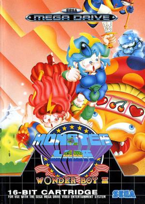 Wonder Boy III : Monster Lair sur MD