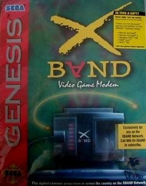 X-Band Modem sur MD