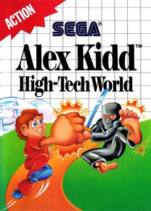 Alex Kidd : High-Tech World sur MS