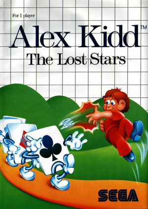 Alex Kidd : The Lost Stars sur MS