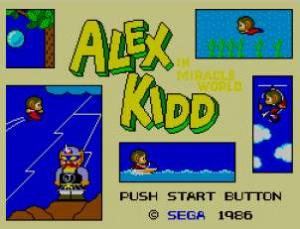 Oldies : Alex Kidd In Miracle World