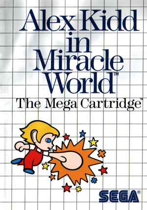 Alex Kidd in Miracle World sur MS