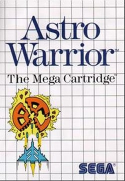 Astro Warrior sur MS