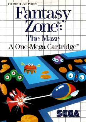Fantasy Zone  : The Maze sur MS