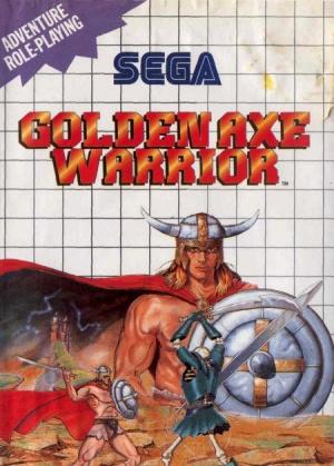 Golden Axe Warrior sur MS