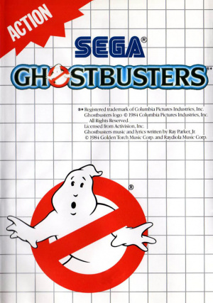 Ghostbusters sur MS