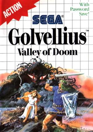 Golvellius : Valley of Doom sur MS