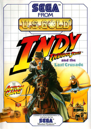 Indiana Jones and the Last Crusade : The Action Game sur MS