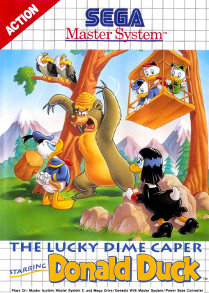 The Lucky Dime Caper starring Donald Duck sur MS