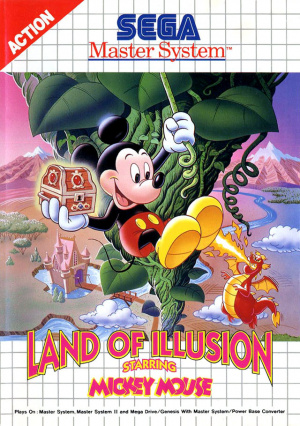 Land of Illusion starring Mickey Mouse sur MS