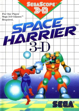 Space Harrier 3D sur MS