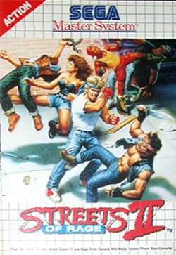 Streets of Rage 2 sur MS