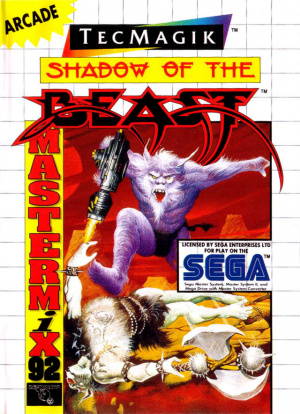 Shadow of the Beast sur MS