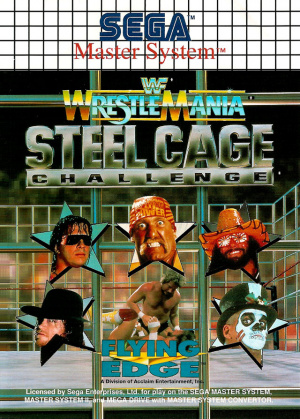 WWF WrestleMania : Steel Cage Challenge sur MS