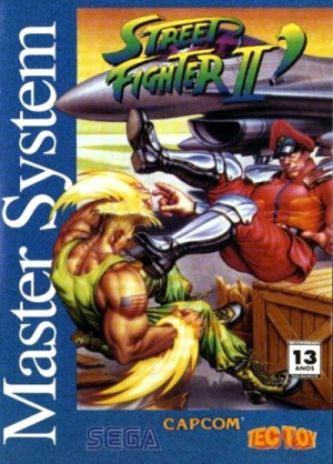 Street Fighter II' sur MS