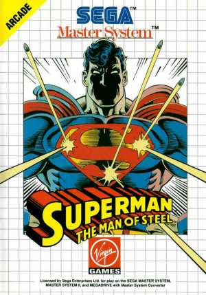 Superman : The Man of Steel sur MS