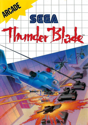 Thunder Blade sur MS