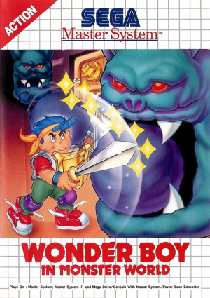Wonder Boy in Monster World sur MS