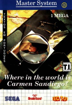 A la Poursuite de Carmen Sandiego dans le Monde sur MS