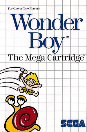 Wonder Boy sur MS
