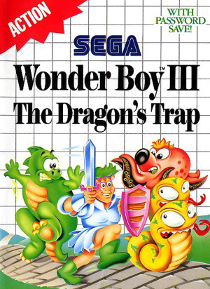Wonder Boy III : The Dragon's Trap sur MS