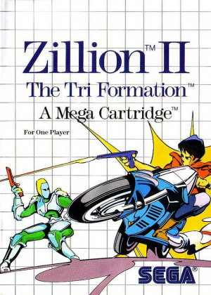 Zillion II : The Tri Formation sur MS