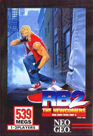 Real Bout Fatal Fury 2 : The Newcomers sur NEO